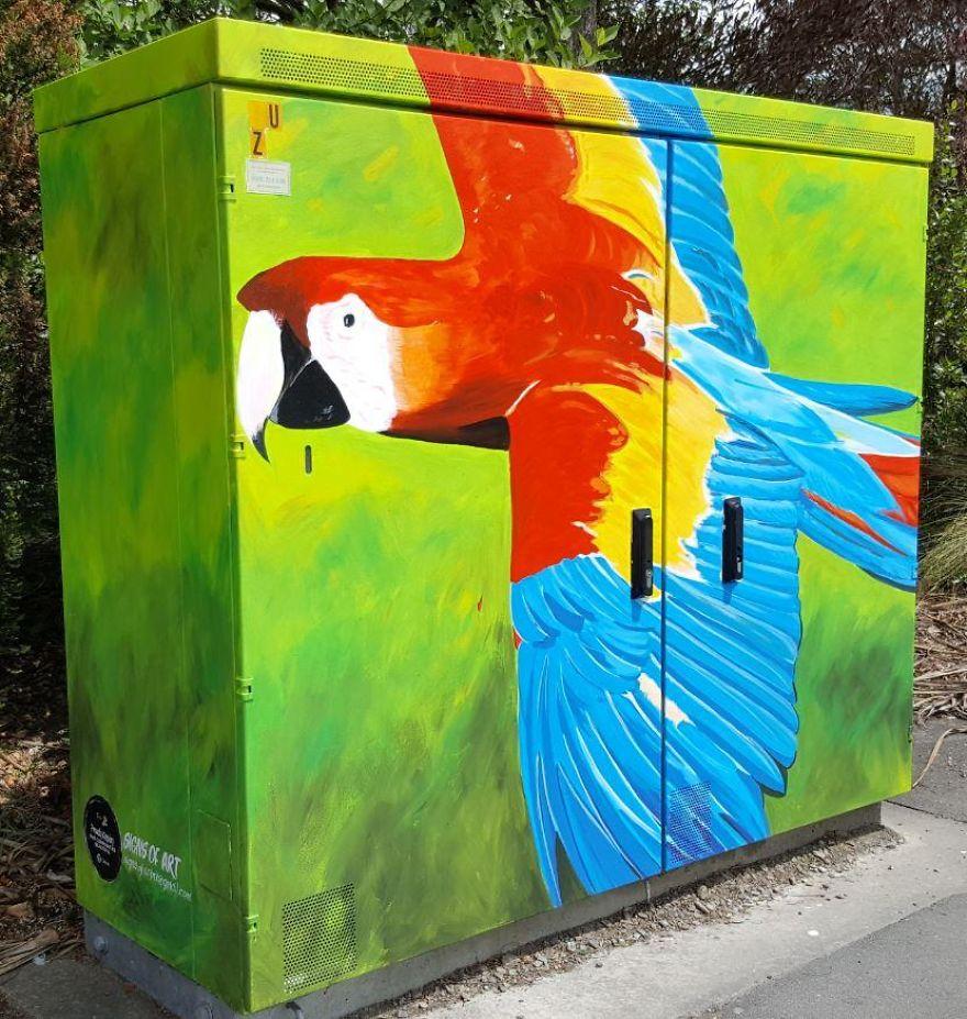 """Parrot"" By Anne McDonald"