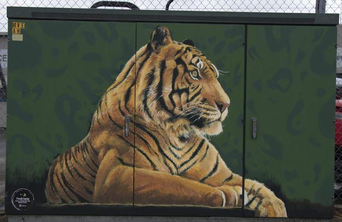 """""""Tiger"""" By Jordan McGuire"""