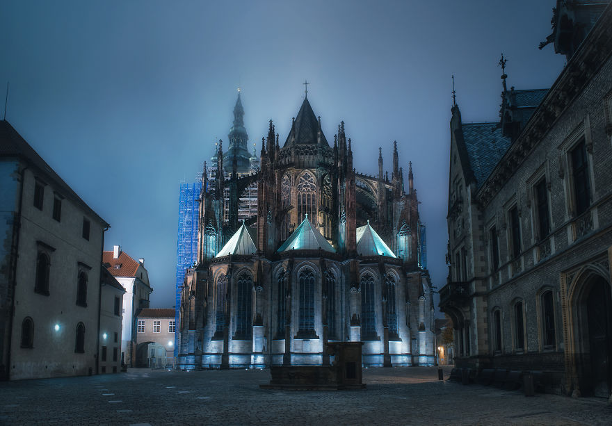 I Spent A Night With The Autumn Ghosts Of Prague
