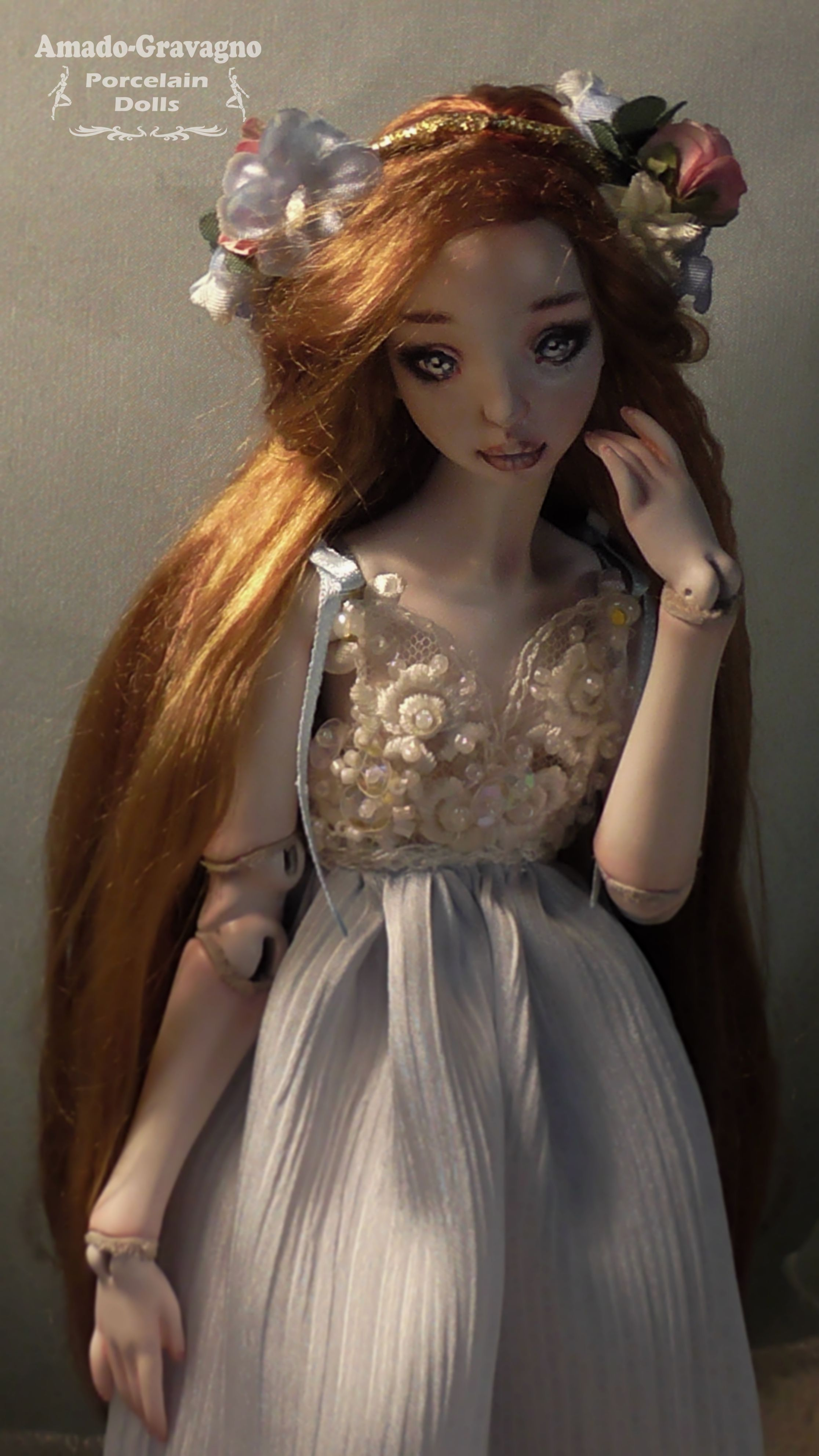 Captivating Fairytale Dolls Made In Porcelain That Can Fit In Your Hand And Will Stay In Your Heart Forever!