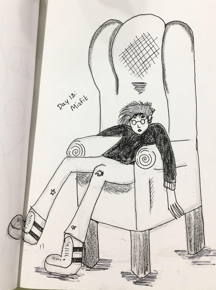 Day 18: Misfit