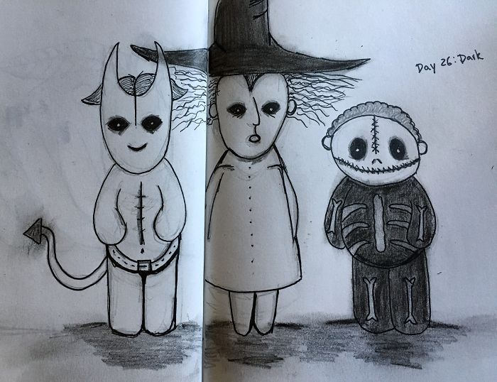 Day 26: Dark, Oogie's Boys (From The Nightmare Before Christmas)