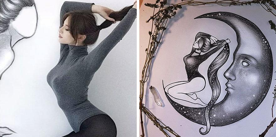 Turn Yourself Into Art Challenge