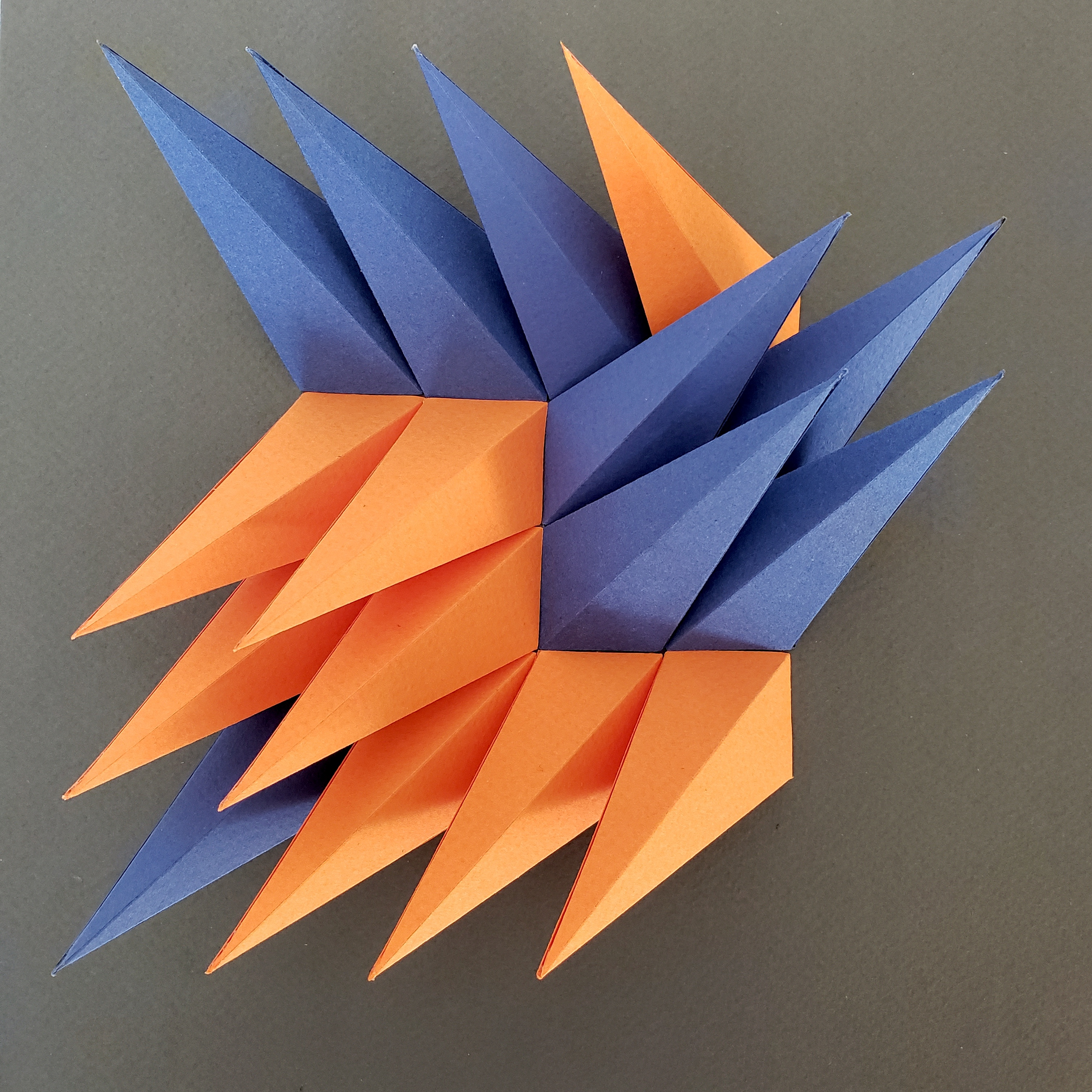 Abstract Shapes Carefully Made From Paper By Zahra Ammar