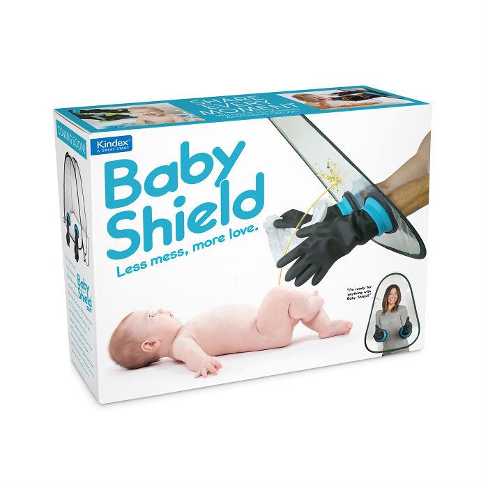 Escudo para cambiar el pañal a tu bebé