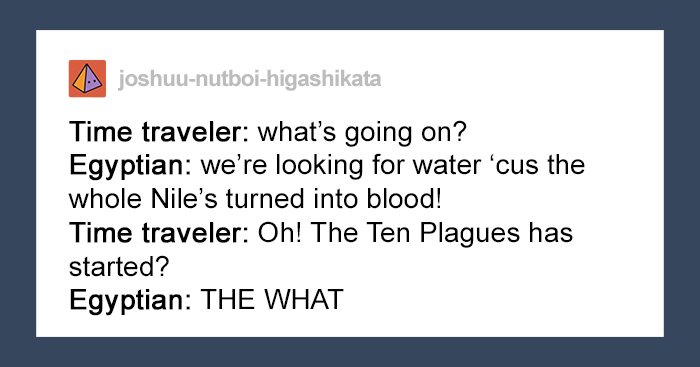 Turns Out, The 10 Plagues Of Egypt Might've Actually Happened Because Of A Volcanic Eruption And This Person Explains It All