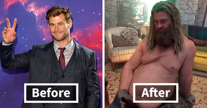 57 Before And After Hollywood SFX Makeup Pics