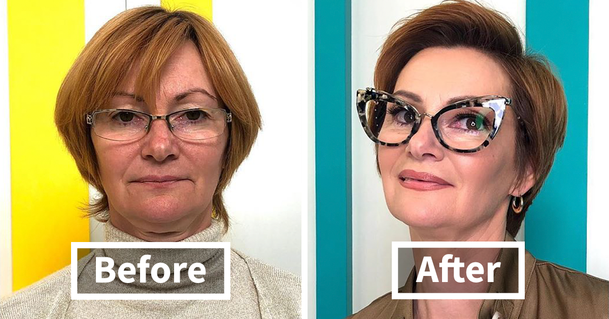 42 People Who Were Transformed By Russian Stylist Alexandr Rogov
