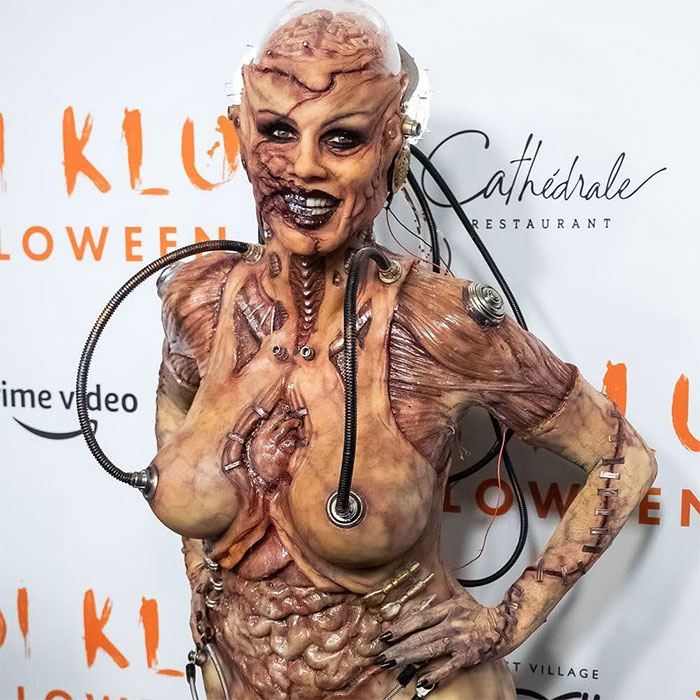 Heidi Klum As Alien