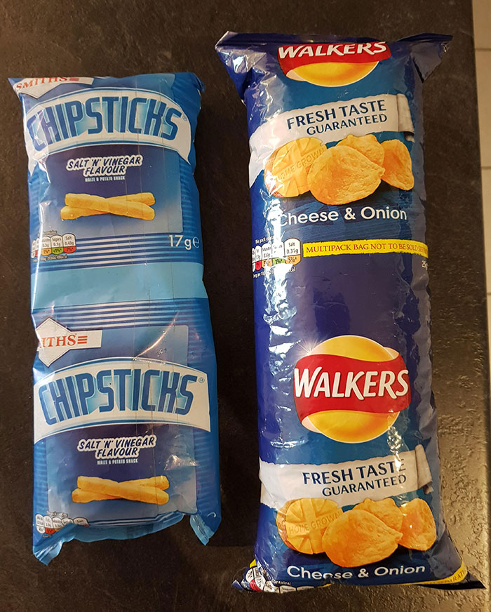 I Now Own Two Packs Of Double Crisps