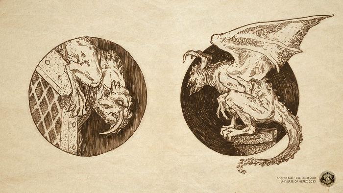 Wiged Demons A.k.a. Gargoyles