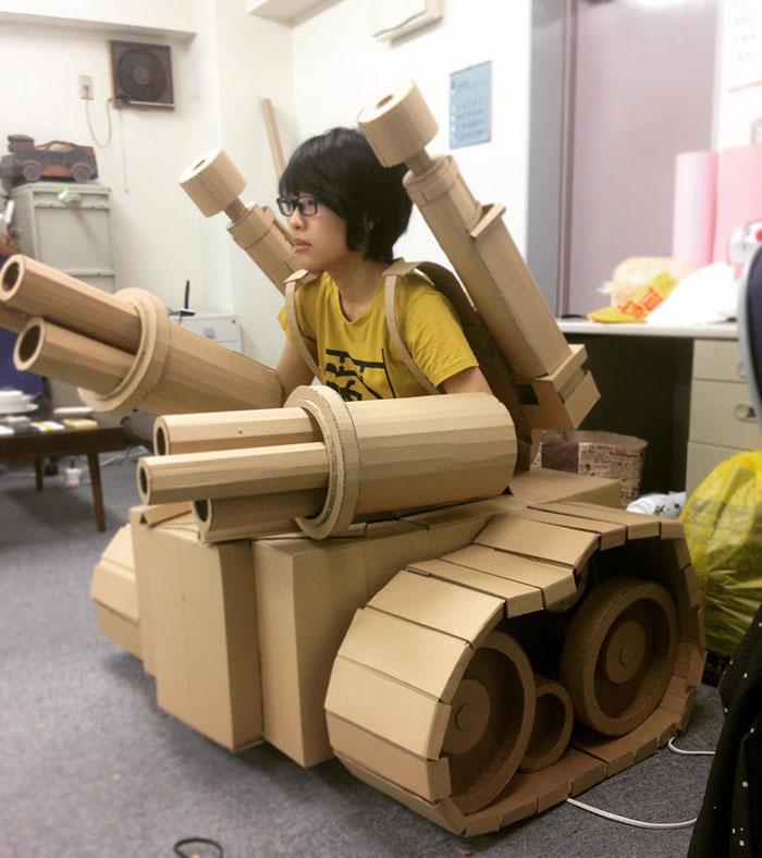 Cardboard-Box-Art-Monami-Ohno-Japan