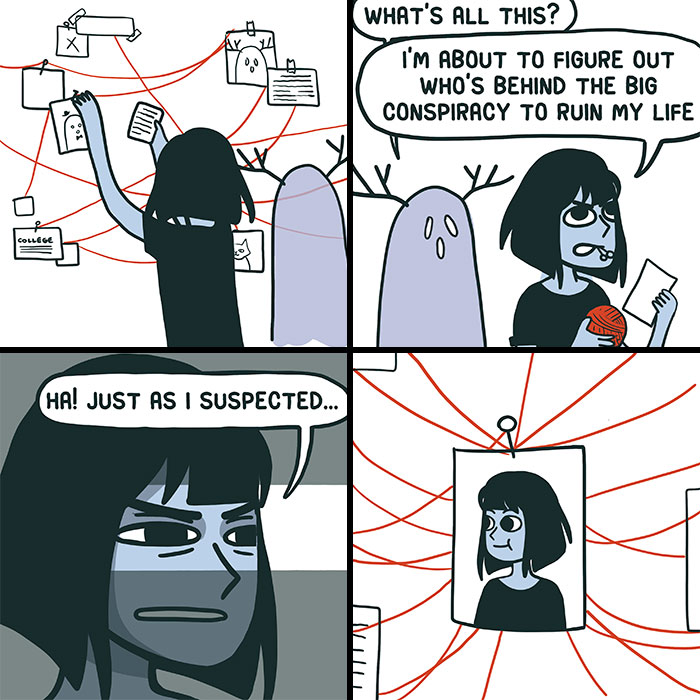 I Share My Thoughts And Inner Conflicts Through 30 Comics