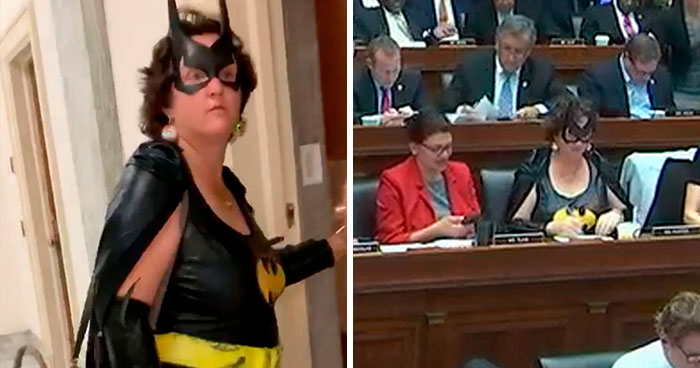 Congresswoman Shows Up To Impeachment Vote In Full Batgirl Costume And It Has Infuriated Some People