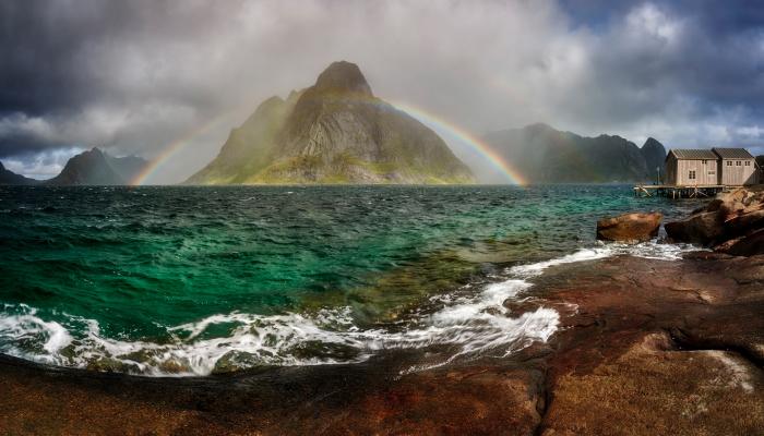 I Photographed Dream Lofoten Rainbows
