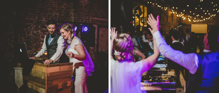 I Photographed A Wedding Where Both The Bride And The Groom Were Djs