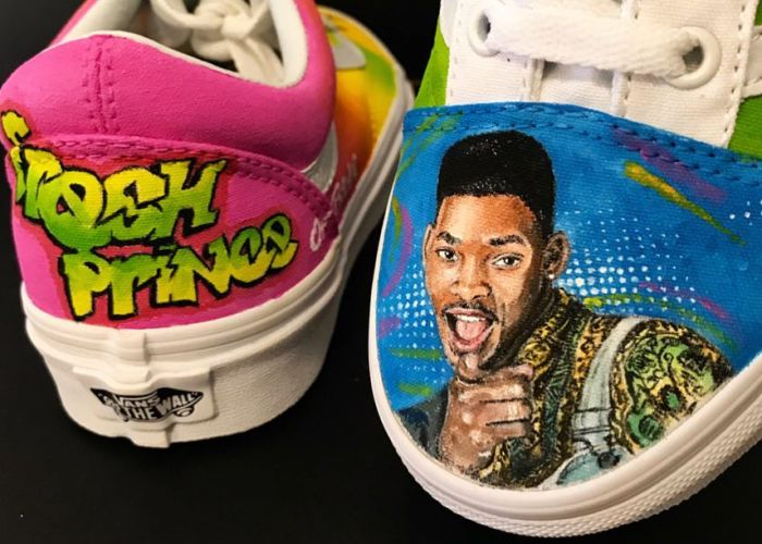 Over The Past 6 Years, I Have Hand-Painted More Than 1000 Pairs Of Custom Shoes