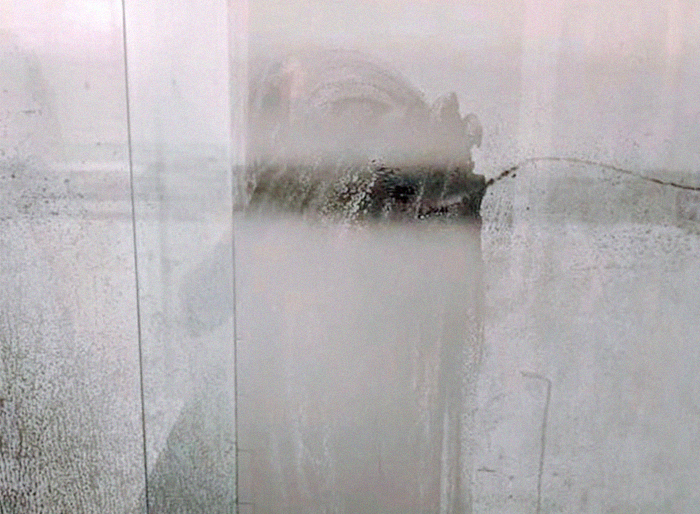 Dad's Shower Door Pics Goes Viral Along With Recognition Of His Stay-At-Home Wife's Work