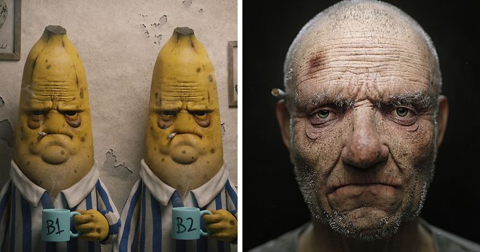 This Artist Reimagines Characters And Various Objects And The Results Are Scary (17 Pics)