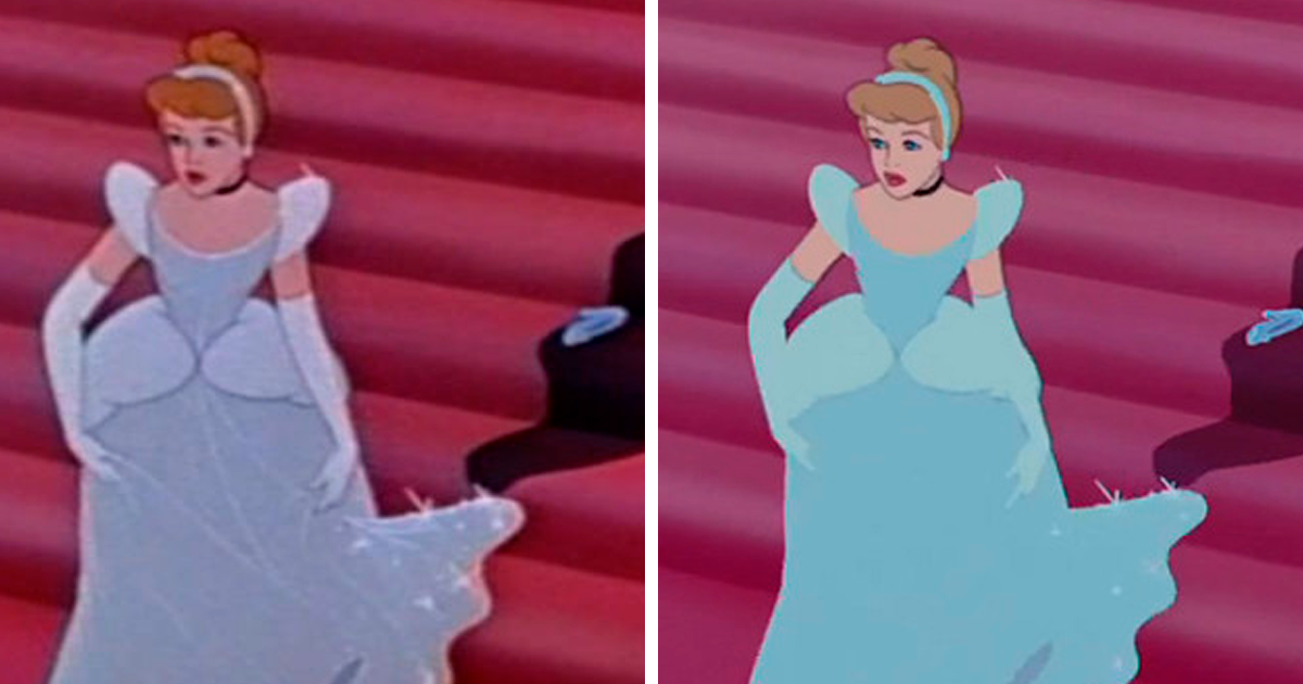 Disappointed Disney Fans Point Out The Flaws In The 'Cinderella' Blu-Ray Restoration (10 Pics)