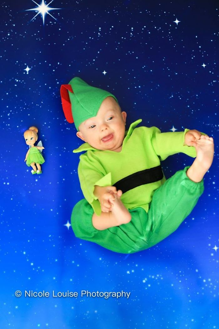 Kids With Down Syndrome Pose As Disney Characters For A Beautiful Awareness Campaign (20 Pics)