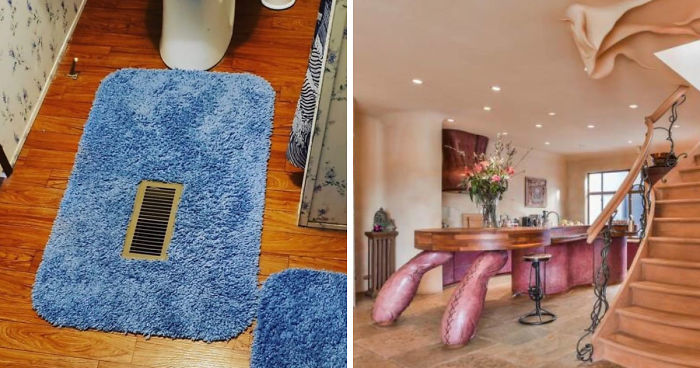 'Please Hate These Things:' This Instagram Account Is Heaven For Those Looking For The Worst Home Design Ideas (40 Pics)