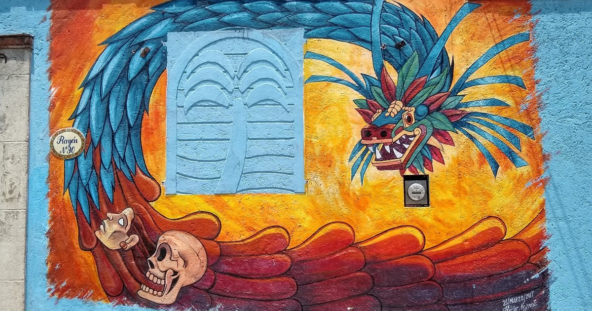 I Have Taken These 20 Photos Of Street Murals During My Cycling Trips Through The Small Towns Of Mexico