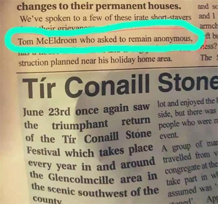 Sucks To Be You, Tom