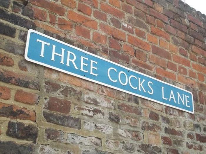 Three Cocks Lane
