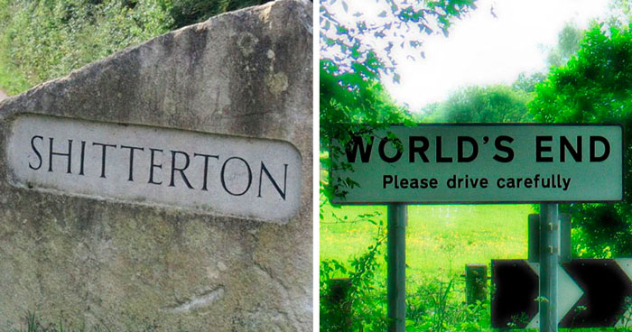 32 Uk Towns With Hilarious Names That