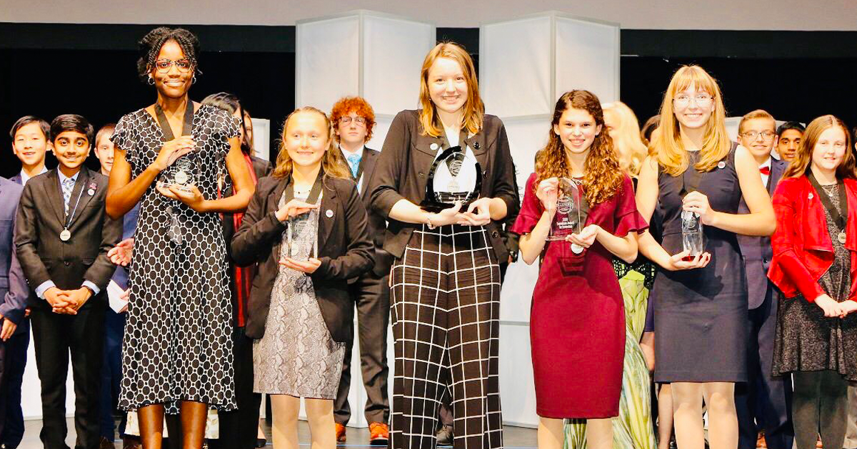For The First Time In History, Girls Win All The Top 5 Prizes Of The National STEM Competition
