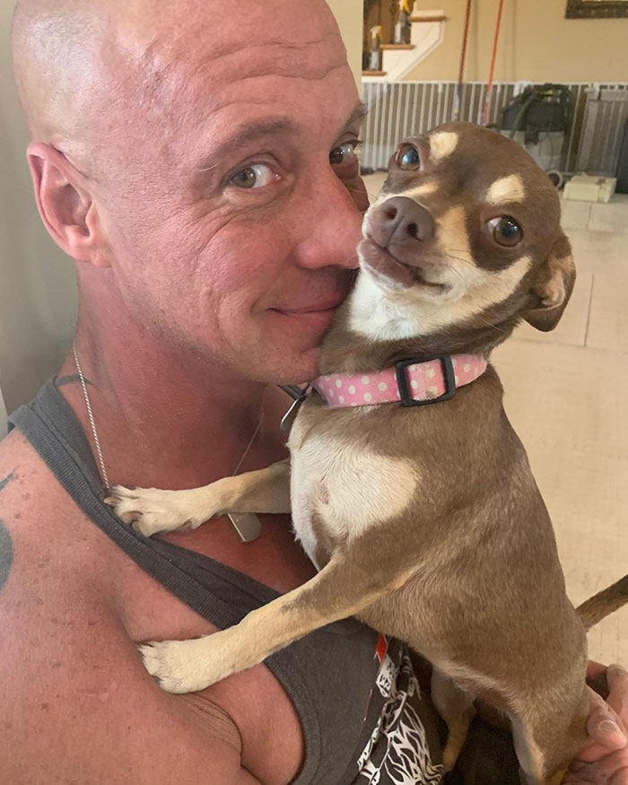 Man Who Makes Fun Of Tiny Dogs Gets Saved By A Chihuahua, Devotes His Life To Rescuing Them