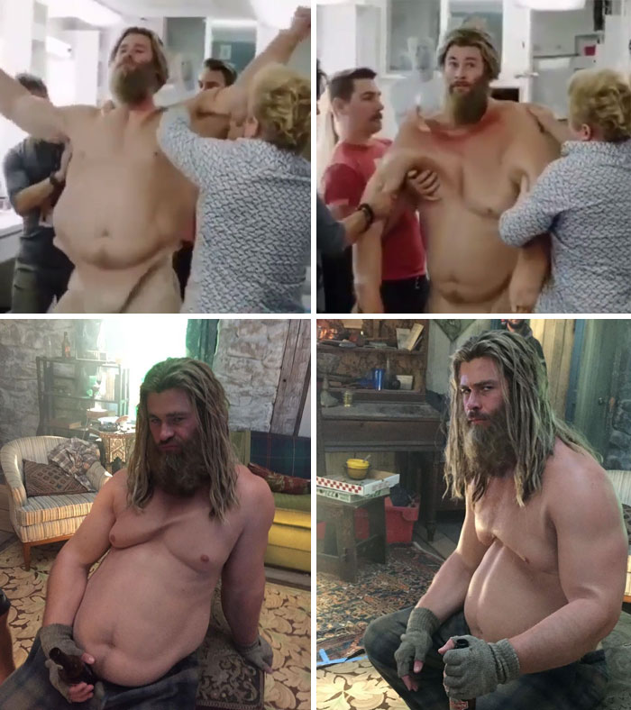 Chris Hemsworth, Avengers Endgame
