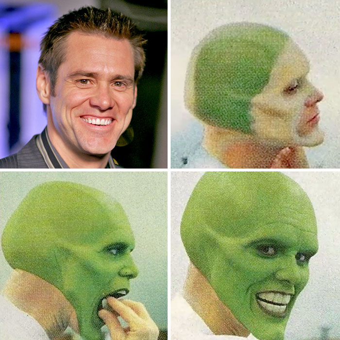 Jim Carrey, Mask