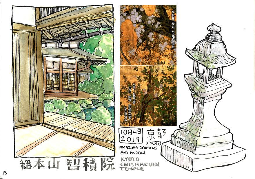 Kyoto Chishakuin Temple
