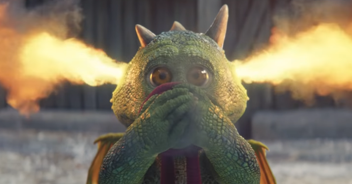 John Lewis Is Back At It With Their Christmas Ad Featuring Edgar The Excitable Dragon