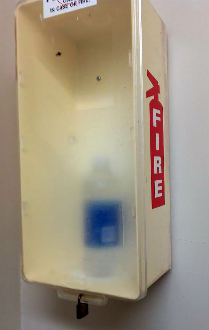 My Landlord Is Super Serious About Fire Safety
