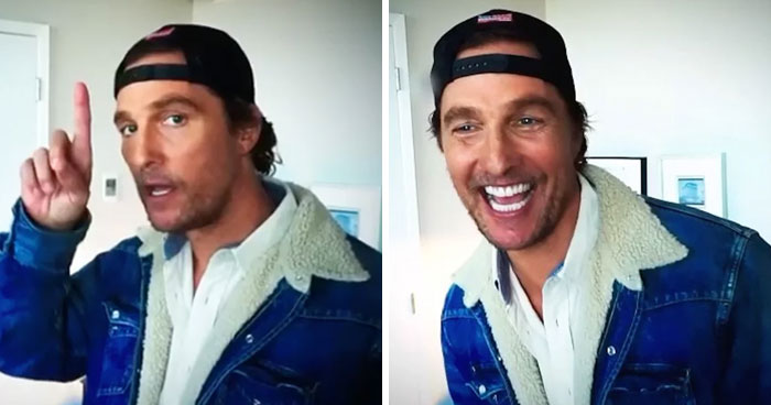 Matthew McConaughey Shares First Post On Instagram, Instantly Gets 1.6 Million Followers
