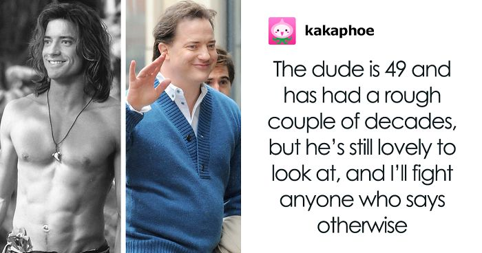 Person Tries Shaming Brendan Fraser, People Defend The Actor Instead Of Jumping In On The Hate