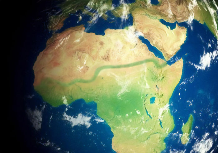 """Over 20 Countries Started Building The """"Great Green Wall"""" To Stop Climate Change & Poverty"""