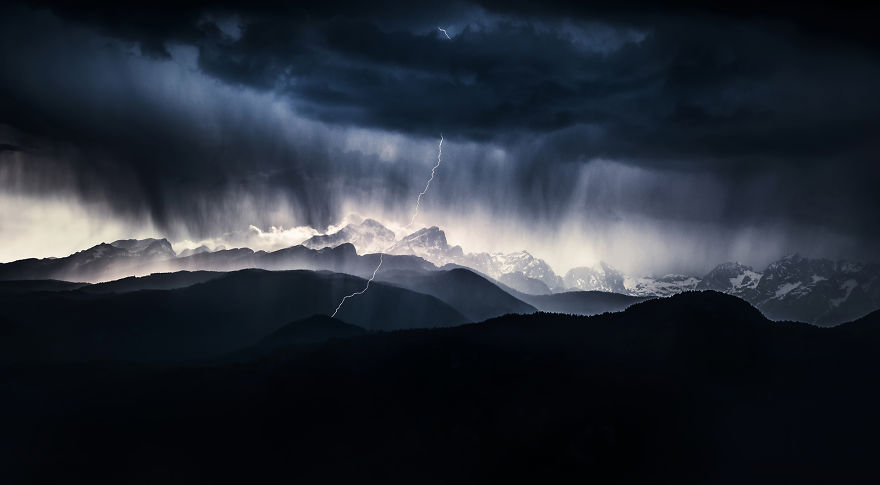 Category Landscape Winner: 'A Stormy Day' By Ales Krivec (Si)