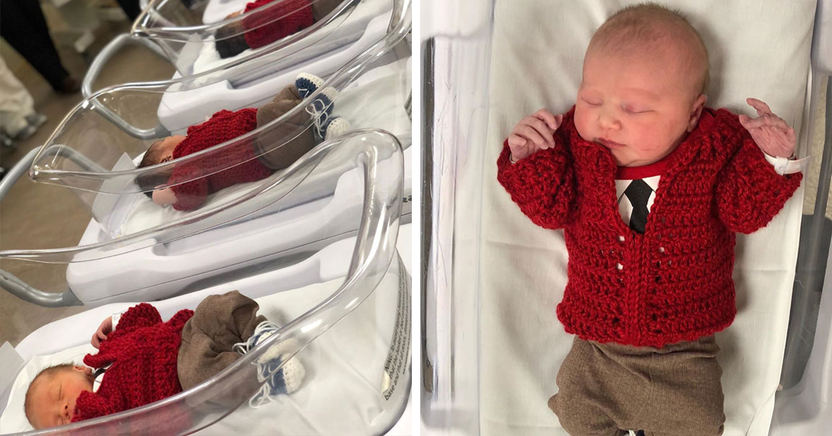Pittsburgh Hospital Dresses Newborns as Mister Rogers To Celebrate World Kindness Day