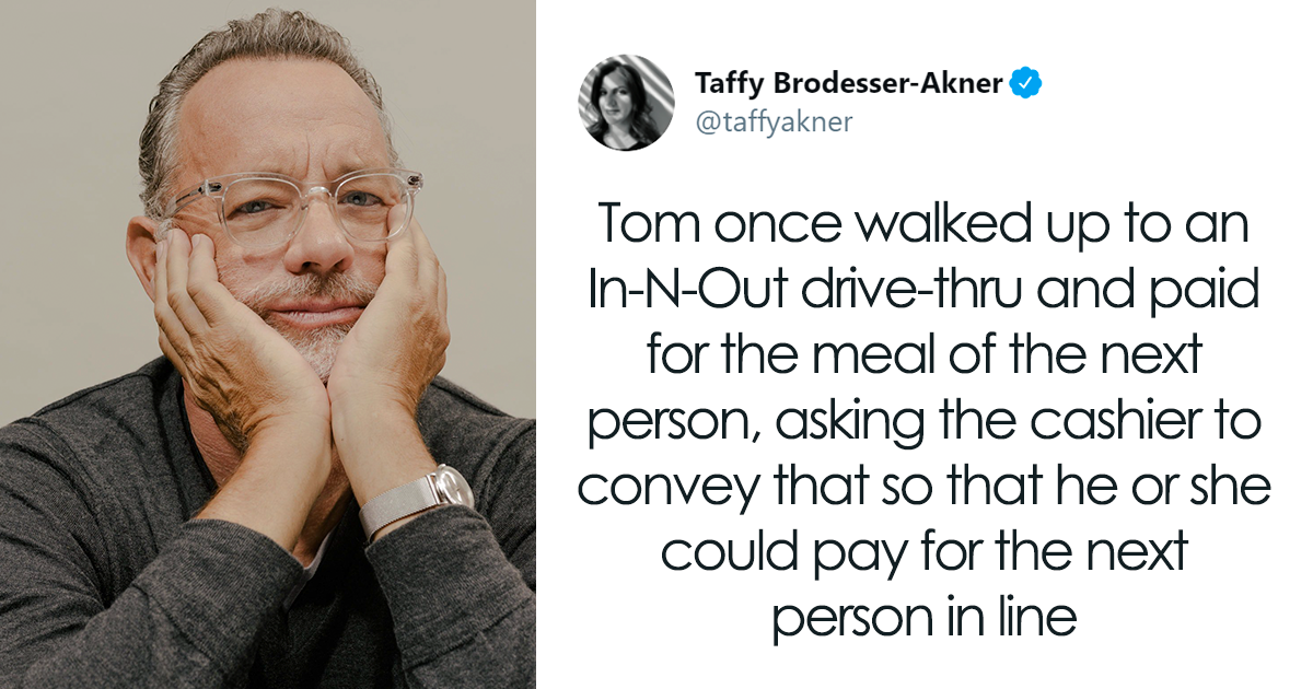 People Are Saying Tom Hanks Is The Nicest Guy In Hollywood, Share Wholesome Stories About Him