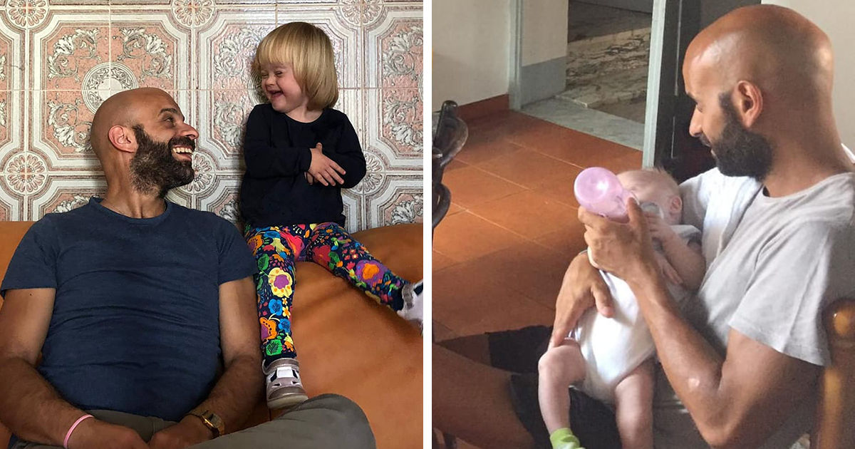 This Single Dad Adopted A Baby Girl With Down Syndrome Who Was Rejected By 20 Families