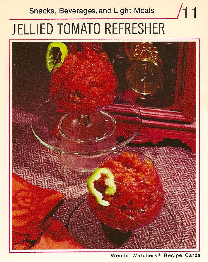 Jellied Tomato Refresher