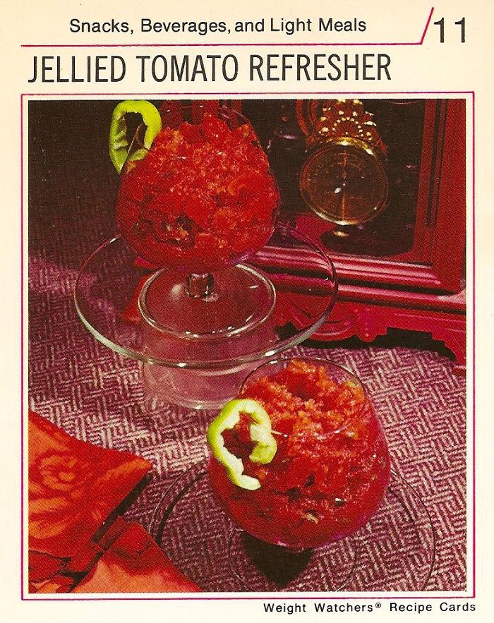 Jellied Tomato Refresher