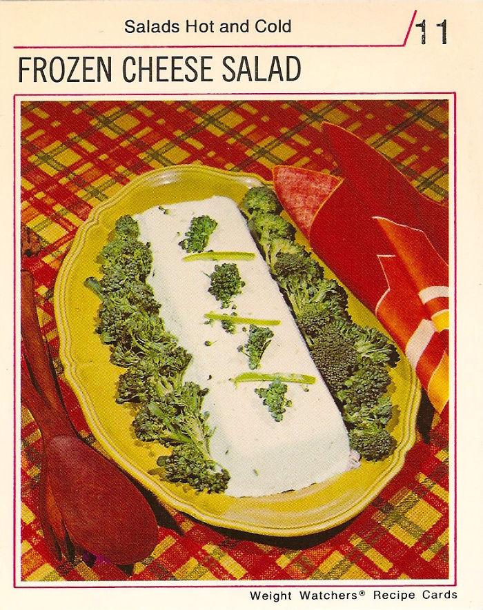 Frozen Cheese Salad