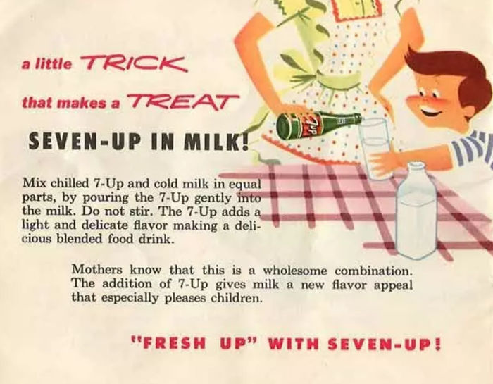 Seven-Up In Milk