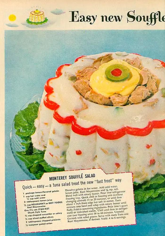 Monterey Soufflé Salad