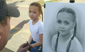 46 Photorealistic Portraits By Nikolay Yarakhtin Hand-Sketched On The Streets Of Saint Petersburg